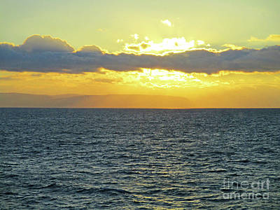 Photograph - Seaview Sunset 1 by Randall Weidner