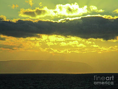 Photograph - Seaview Sunset 2 by Randall Weidner