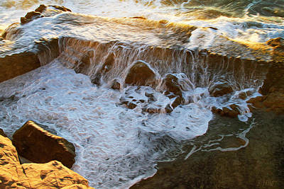 Photograph - Seawall Breach At Lands End by Bonnie Follett