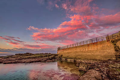 Photograph - Seawall by Peter Tellone