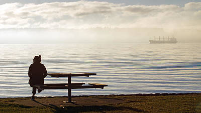 Photograph - Seawall Serenity by Cameron Wood
