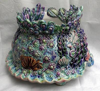 Seaware Planter Original by Renee Kilburn