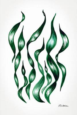 Painting - Seaweed by Ekaterina Chernova