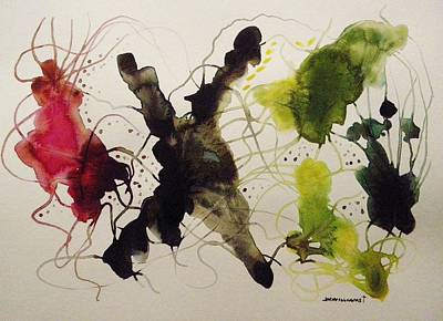 Painting - Seaweed Movement by John Williams