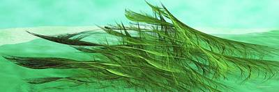Seaweed Moves Art Print