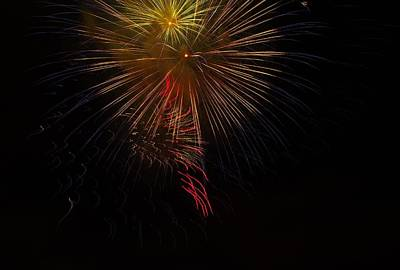 Photograph - Seaworld Fireworks 3 by Phyllis Spoor