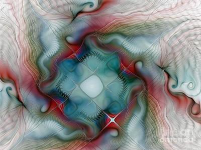 Luminous Digital Art - Seaworld by Karin Kuhlmann