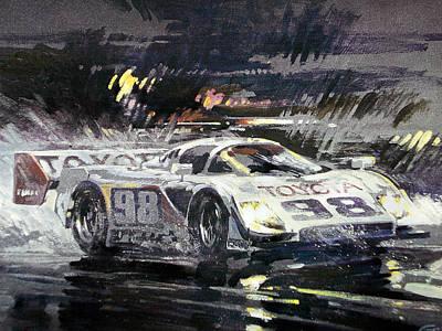 Sebring 12 Hour Art Print by Don Getz