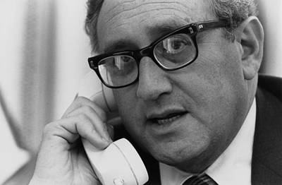Sec. Of State Henry Kissinger Art Print by Everett