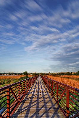 Photograph - Secaucus Greenway Trail Nj by Susan Candelario