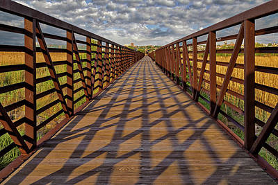 Photograph - Secaucus Nj Greenway Trail  by Susan Candelario