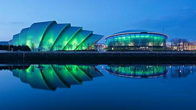Photograph - Secc And Hydro Reflections by Stephen Taylor