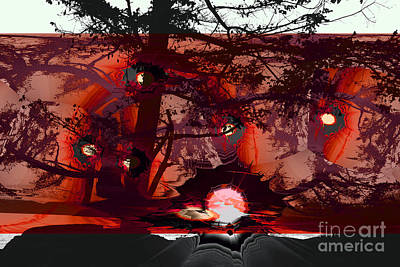 Sechelt Sunset 5 Art Print