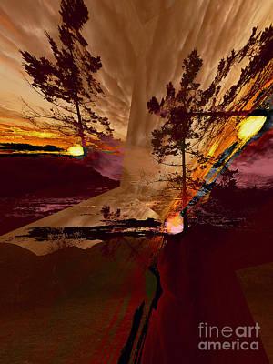 Photograph - Sechelt Tree 1 by Elaine Hunter