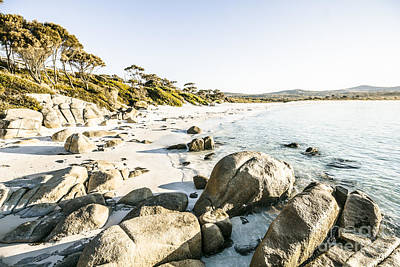 Photograph - Secluded Australian Beach Paradise by Jorgo Photography - Wall Art Gallery