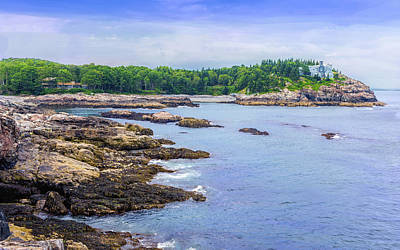 Photograph - Secluded Bay by John M Bailey