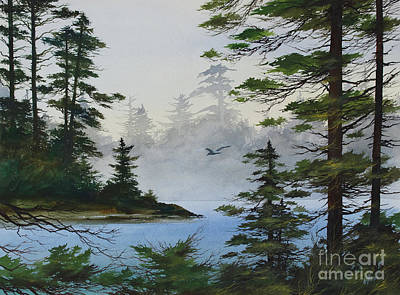 Painting - Secluded Cove by James Williamson