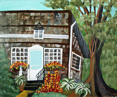 Painting - Secluded Home by Dina Jacobs