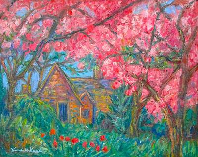 Painting - Secluded Home by Kendall Kessler