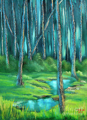 Painting - Secluded I by Marlene Book