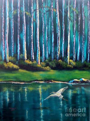 Painting - Secluded II by Marlene Book