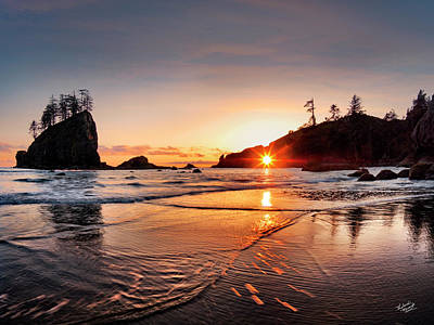Olympic National Park Photograph - Second Beach 3 by Leland D Howard