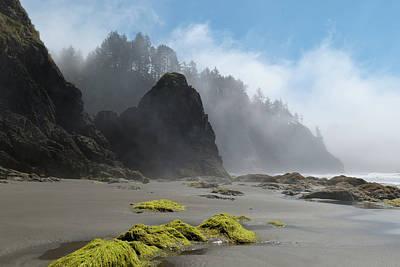 Photograph - Second Beach Atmospheric Landscape by Cascade Colors