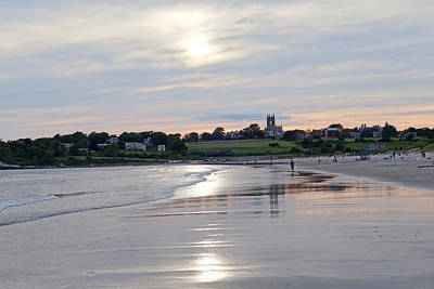 Second Beach Newport Ri Art Print