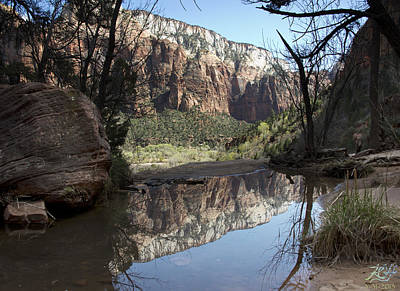 Photograph - Second Emerald Pool by Kenneth Hadlock