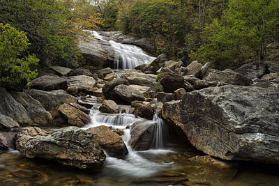 Blue Ridge Parkway Photograph - Second Falls - Blue Ridge Falls by Andrew Soundarajan