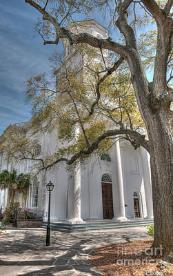 Photograph - Second Presbyterian Church by Dale Powell