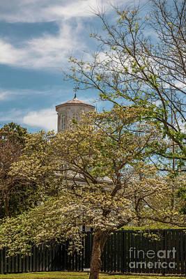 Photograph - Second Presbyterian Church Steeple by Dale Powell