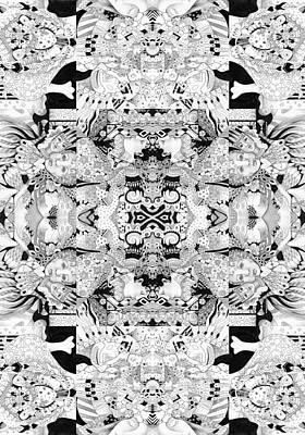 Mixed Media - Second Sight 1 by Helena Tiainen