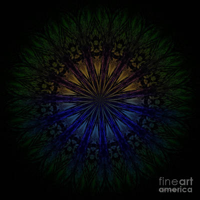 Abstract Sights Mixed Media - Second Sight by Sandra Gallegos