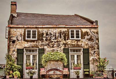 Photograph - Second Story Cottage by Steven Parker