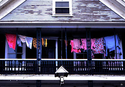 Photograph - Second Story Washline by Wayne King