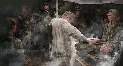 Hero Painting - Second World War 0039 by Jani Heinonen
