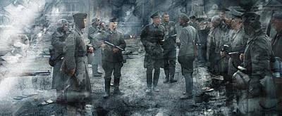 American Painting - Second World War 156 by Jani Heinonen