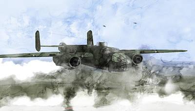 Infantryman Painting - Second World War 180 by Jani Heinonen