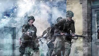 Warrior Painting - Second World War 181 by Jani Heinonen
