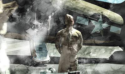 Infantryman Painting - Second World War 21 by Jani Heinonen
