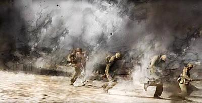 Second World War 312 Print by Jani Heinonen