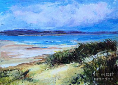 Painting - Secret Beach by Diane Ursin