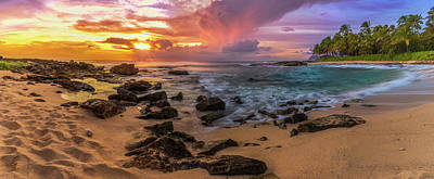 Photograph - Secret Beach Ko Olina by Leigh Anne Meeks
