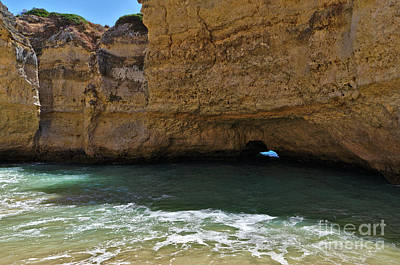 Photograph - Secret Beach Of Cala In Albufeira by Angelo DeVal