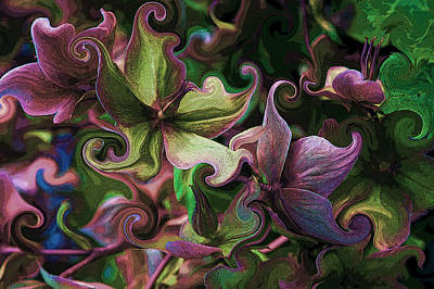 Photograph - Secret Garden by Barbara  White