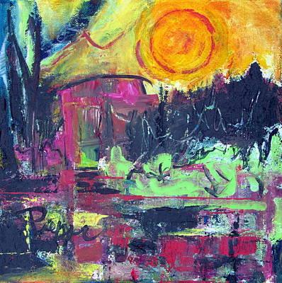 Painting - Secret Garden by Betty Pieper