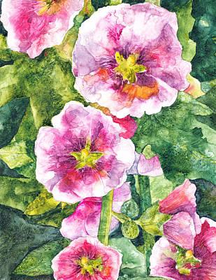 Painting - Secret Garden by Casey Rasmussen White