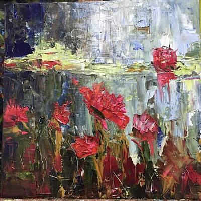Painting - Secret Garden by Debbie Frame Weibler