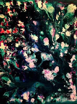 Justine Painting - Secret Garden by Elle Justine